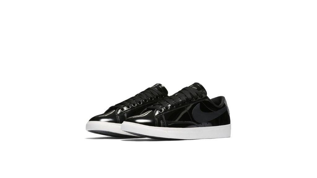 Nike Blazer Low Black Patent (W)