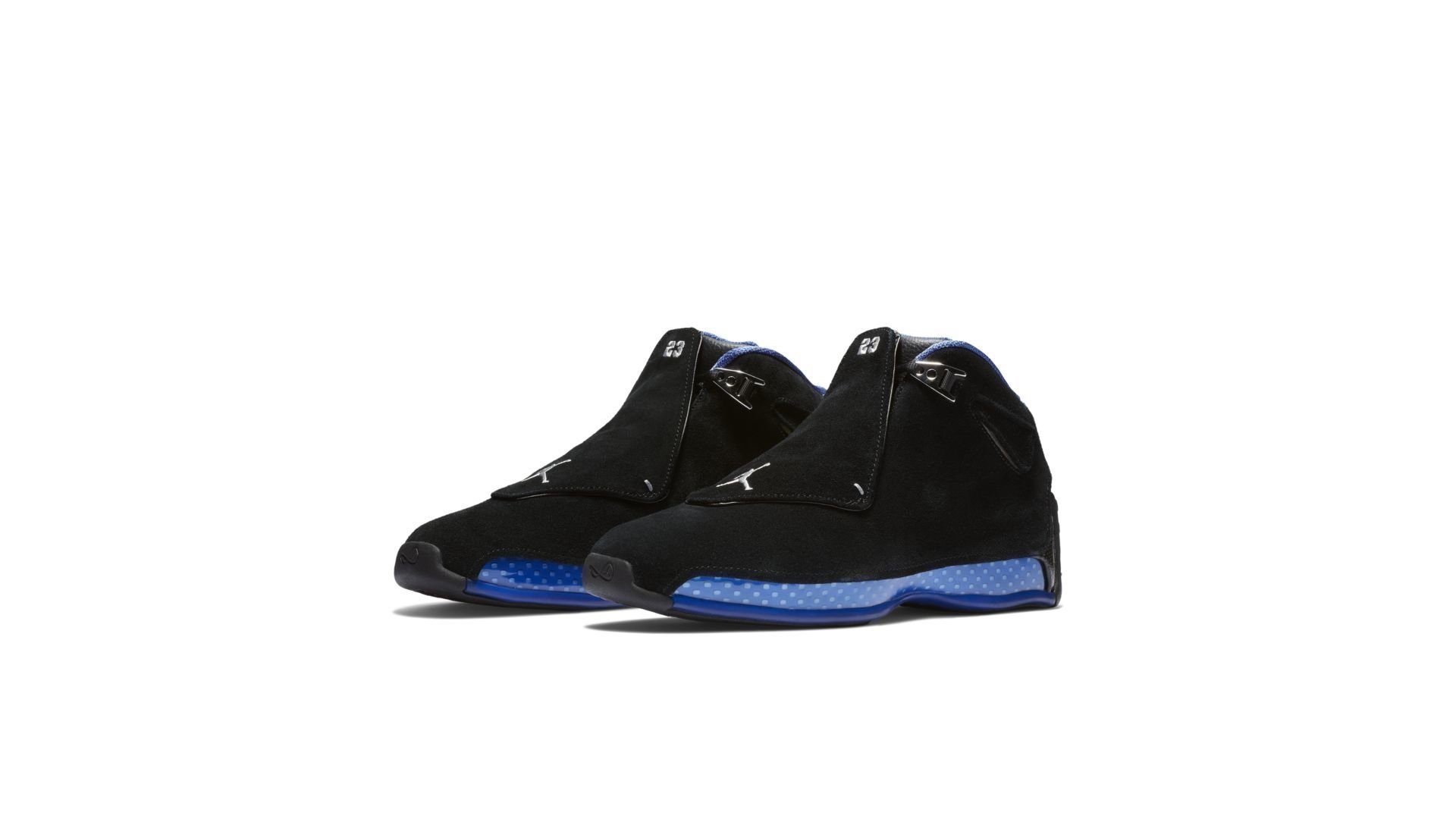 Jordan 18 Retro Black Sport Royal (AA2494-007)