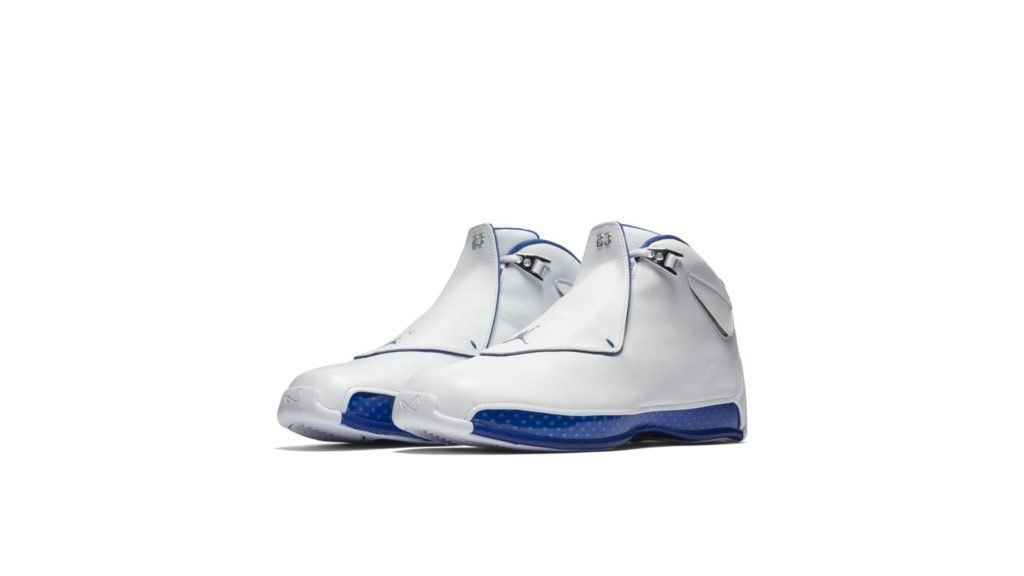 Jordan 18 Retro White Sport Royal