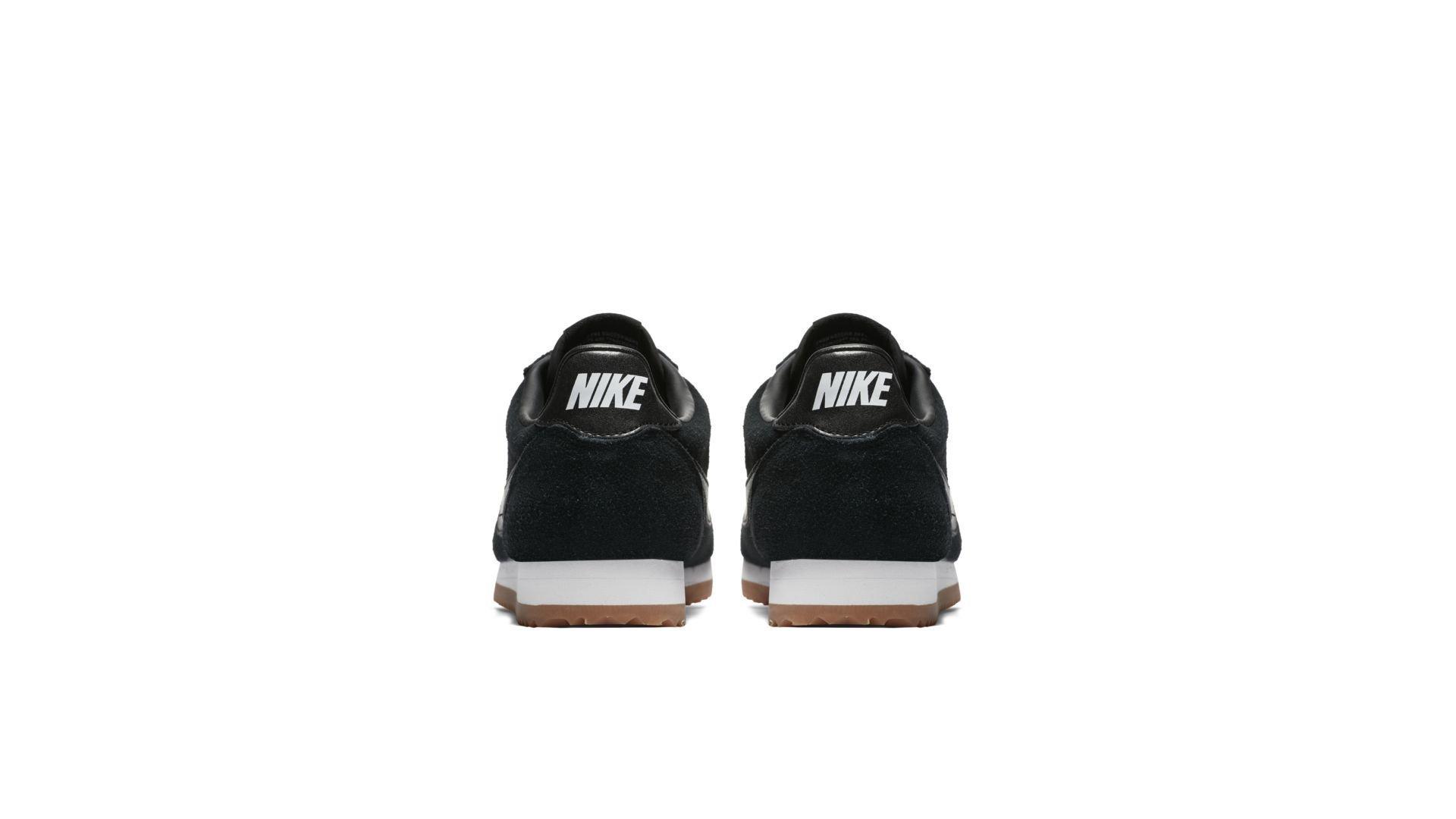 Nike Classic Cortez Suede Black Gum (W) (AA3839-001)