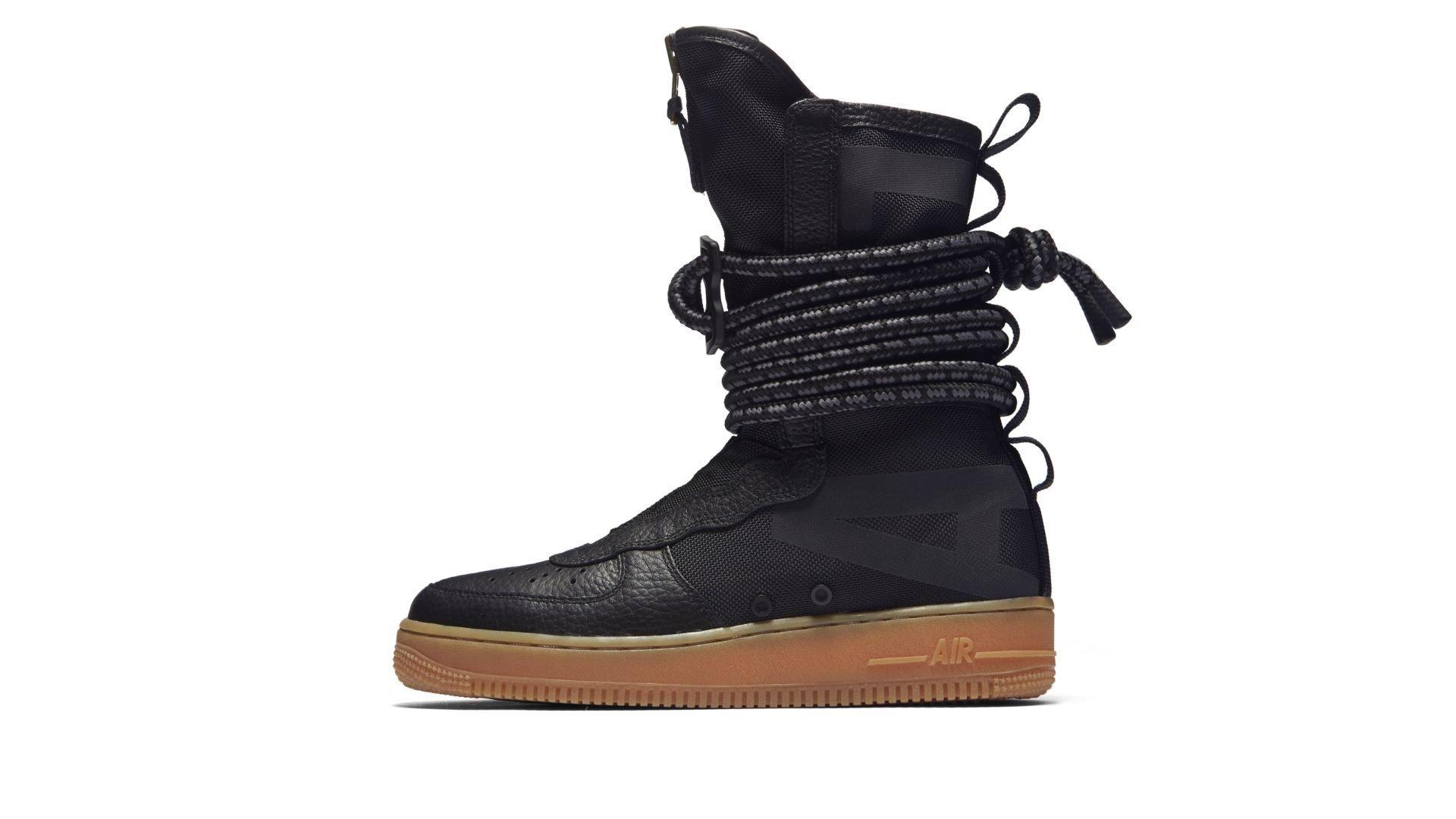 Nike SF Air Force 1 High Black Gum (W) (AA3965-001)