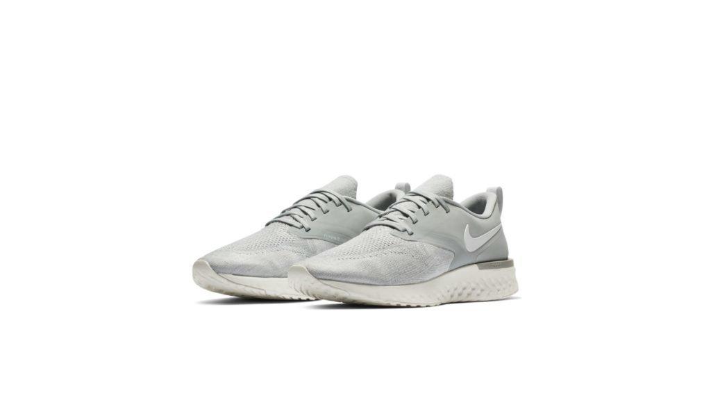 Nike Odyssey React 2 Flyknit Wolf Grey White