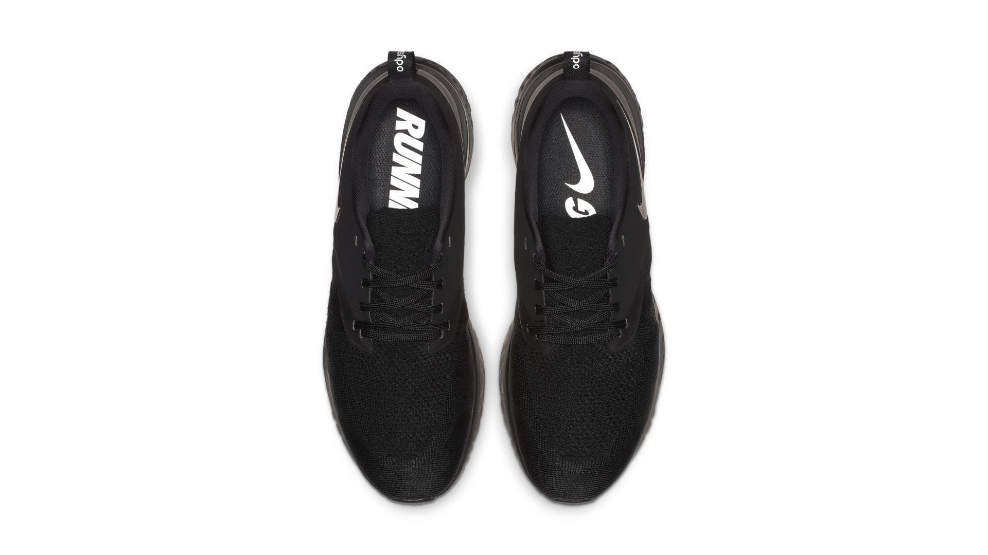 Nike Odyssey React 2 Flyknit Triple Black (AH1015-003)