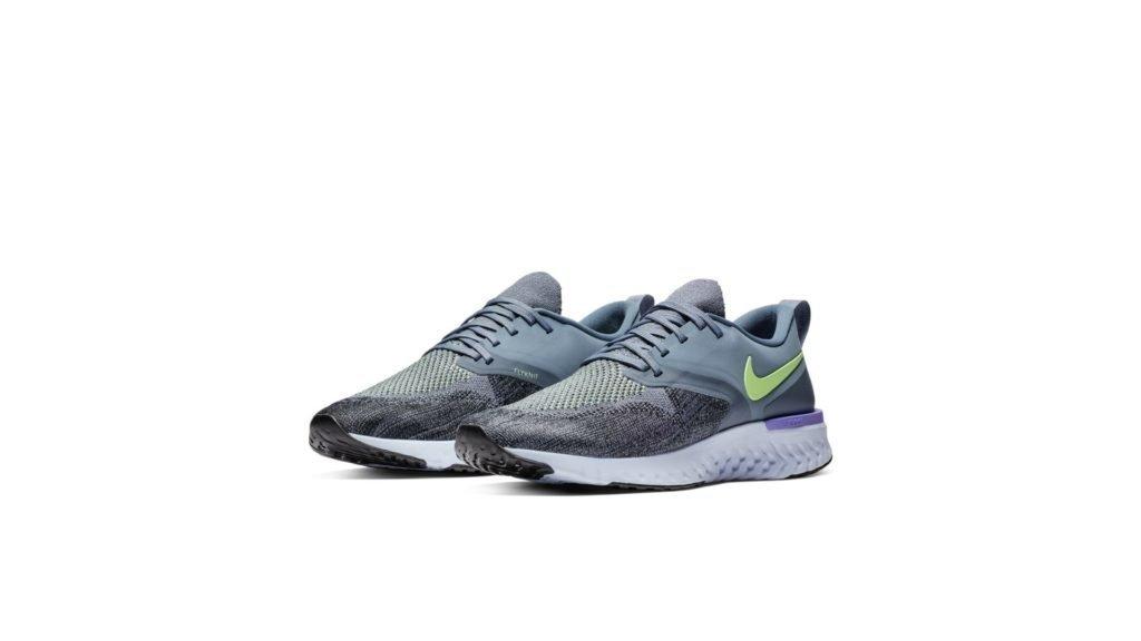 Nike Odyssey React 2 Flyknit Hydrogen Blue Lime Blast