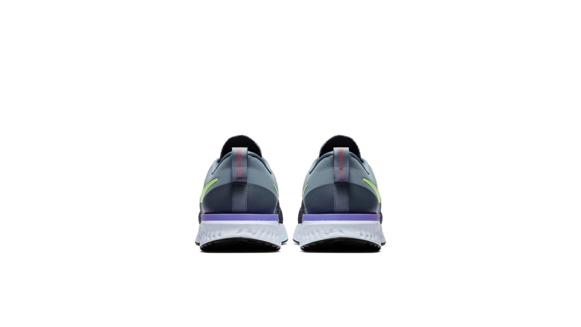 Nike Odyssey React 2 Flyknit Hydrogen Blue Lime Blast (AH1015-401)