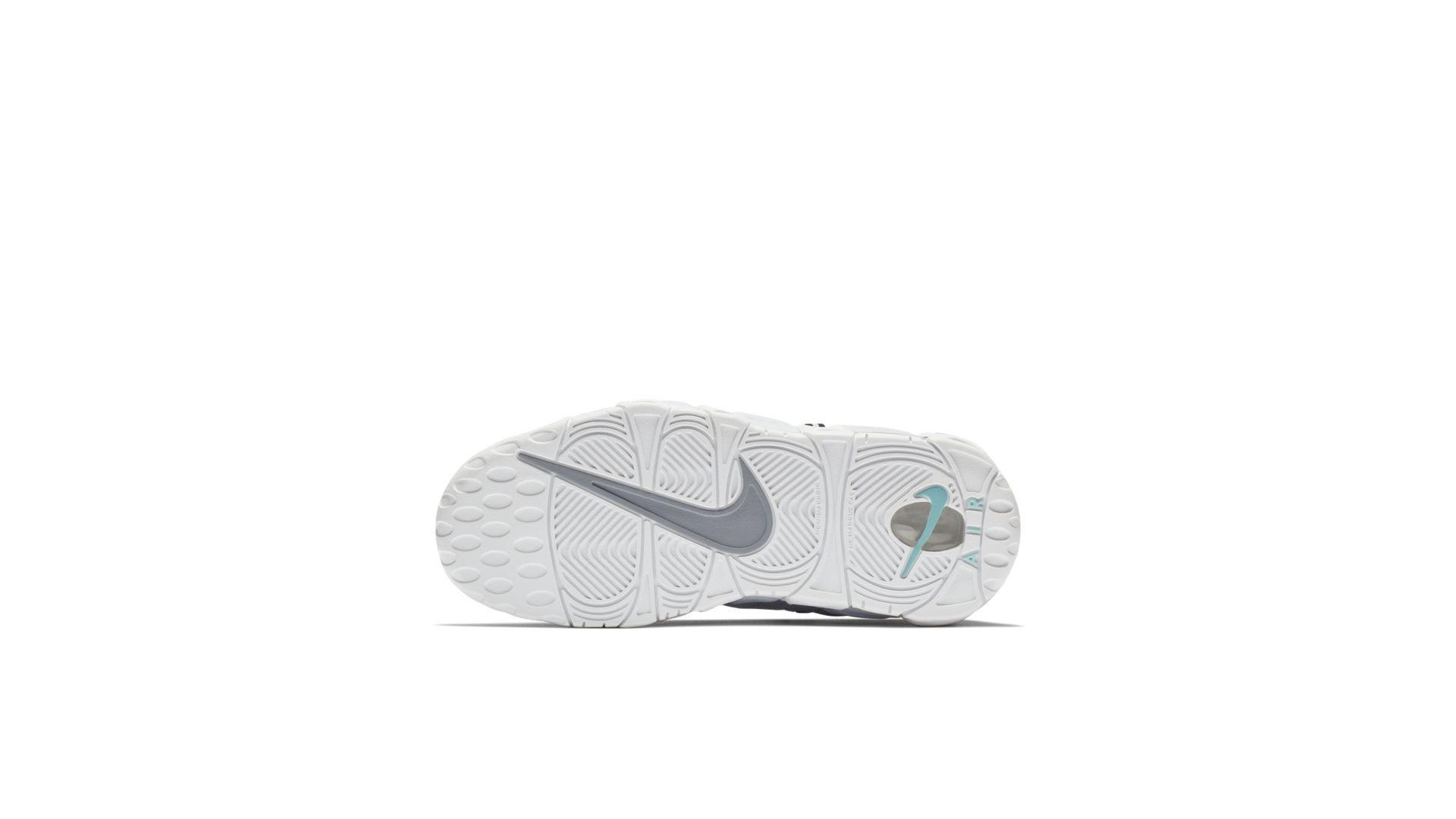 Nike Air More Money Wolf Grey Island Green (GS) (AH5215-002)