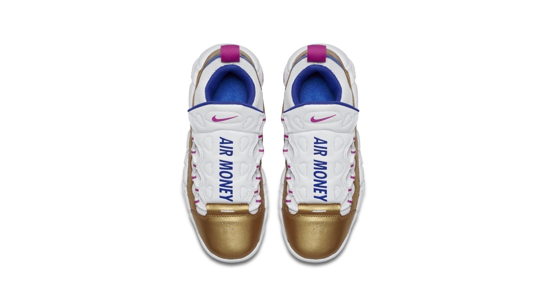Nike Air More Money Peanut Butter & Jelly (GS) (AH5215-101)