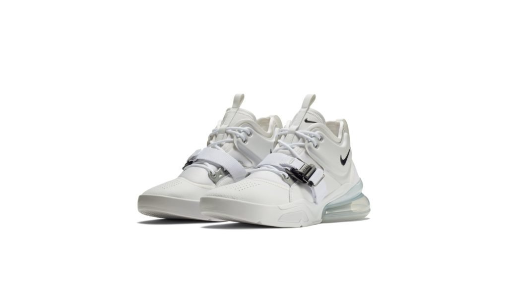 Air Force 270 White Metallic Silver