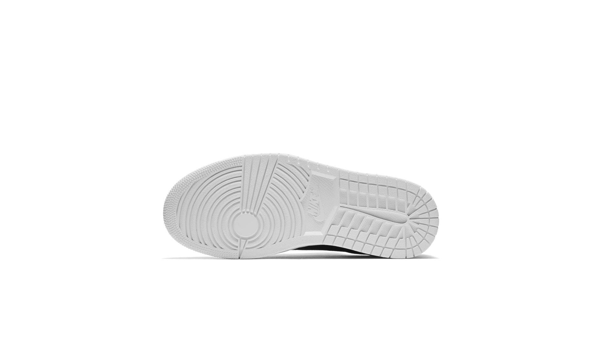 Jordan 1 Retro Low NS Black White (W) (AH7232-011)