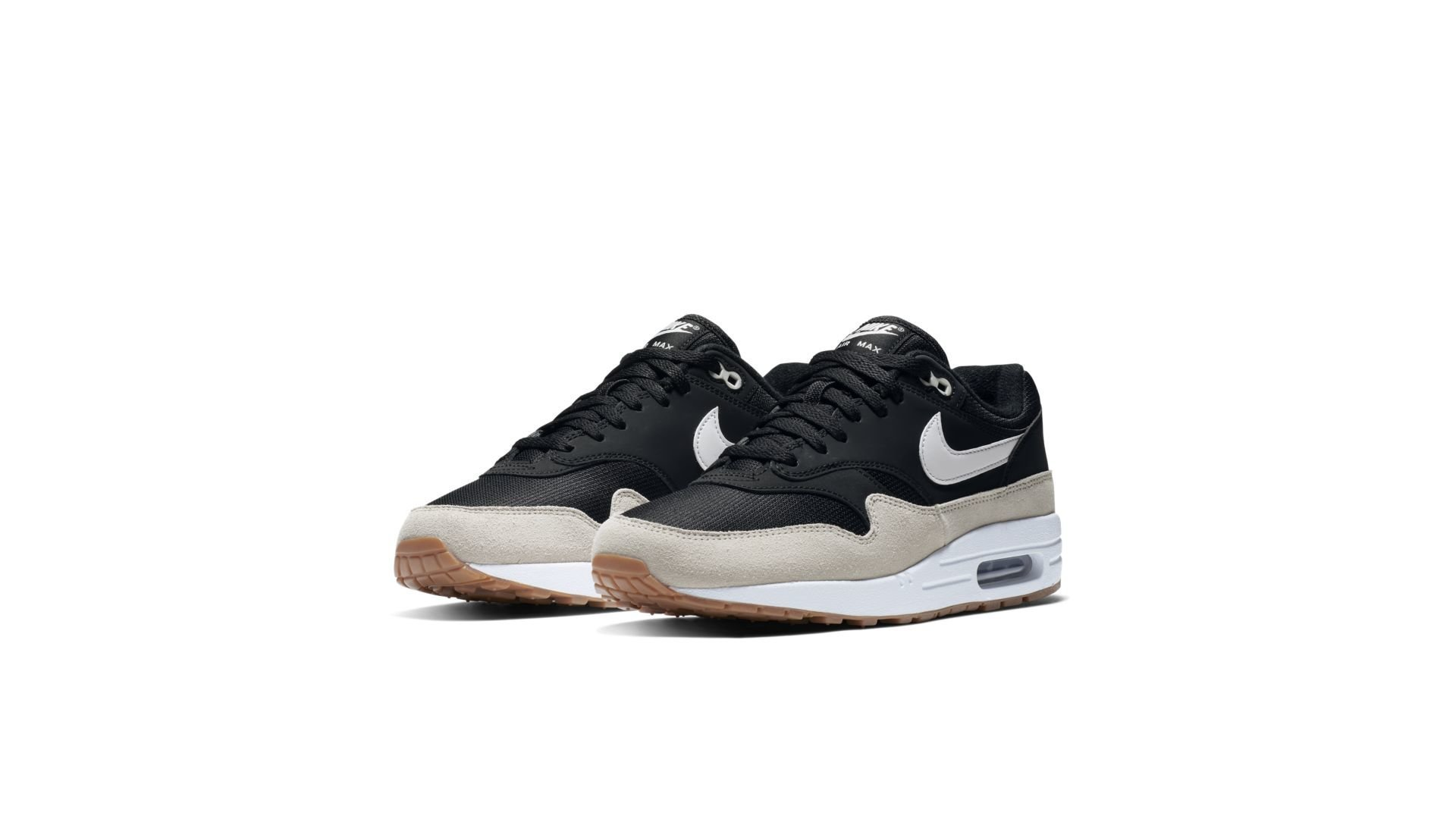 Nike Air Max 1 Black Light Bone White (AH8145 009)
