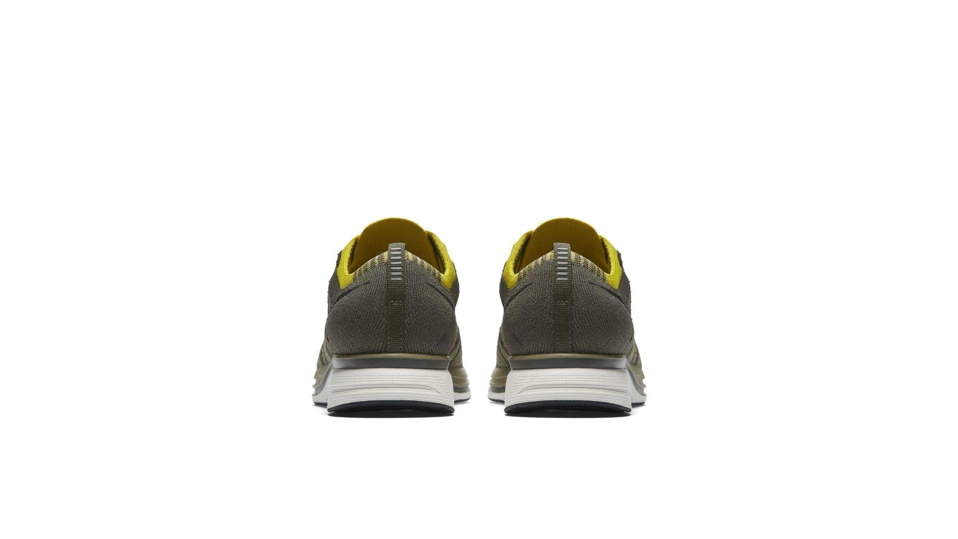 Nike Flyknit Trainer Cargo Khaki Bright Citron (AH8396-300)