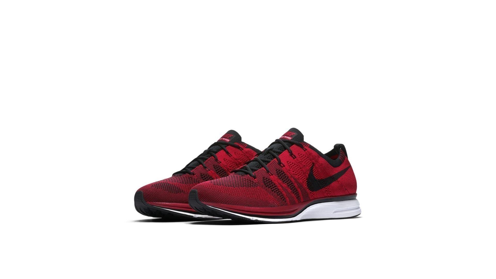 Nike Flyknit Trainer University Red (2018) (AH8396-601)