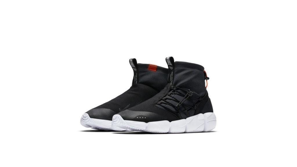 Air Footscape Mid Utility DM Black Safety Orange