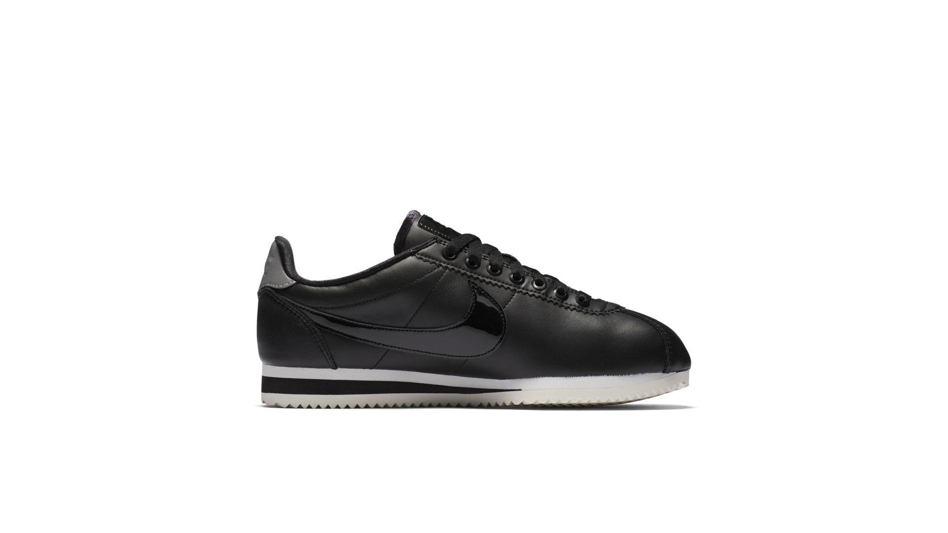 Nike Classic Cortez Black Patent (W) (AJ0135-001)