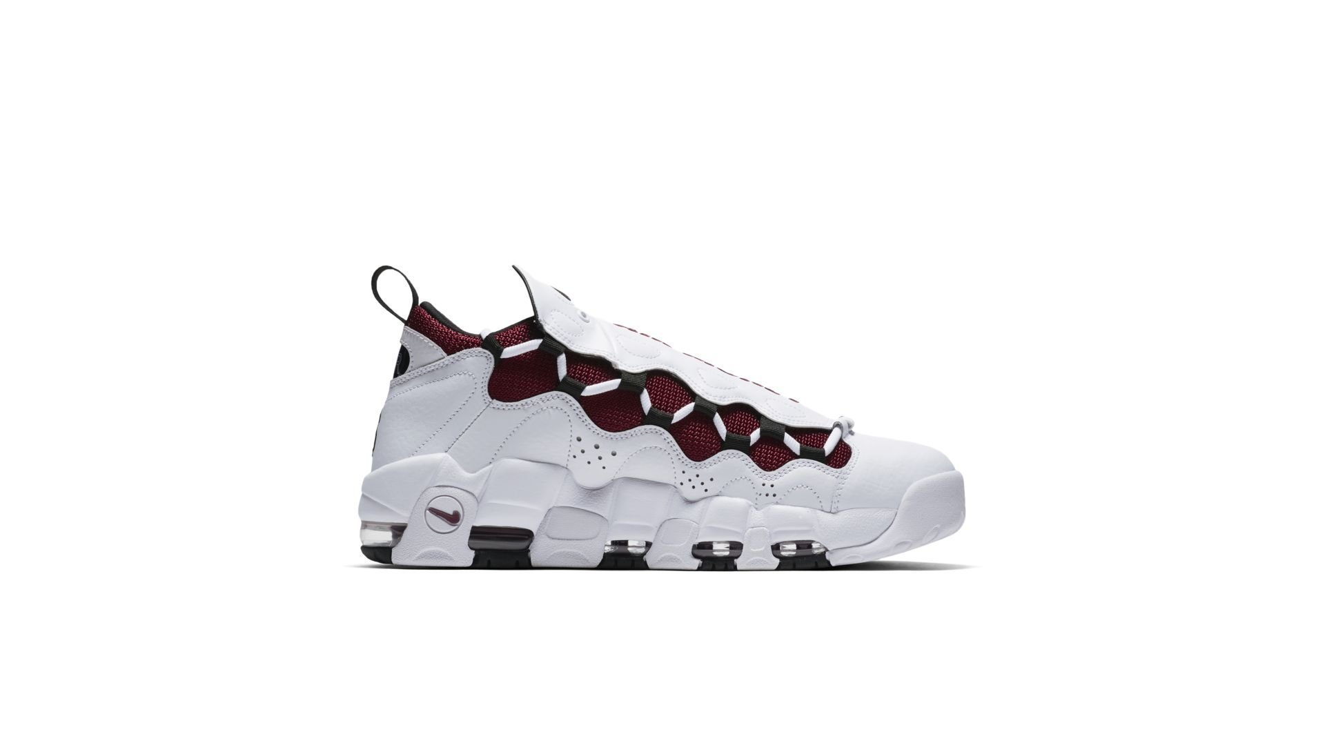 Nike Air More Money White Black Team Red (AJ2998-100)