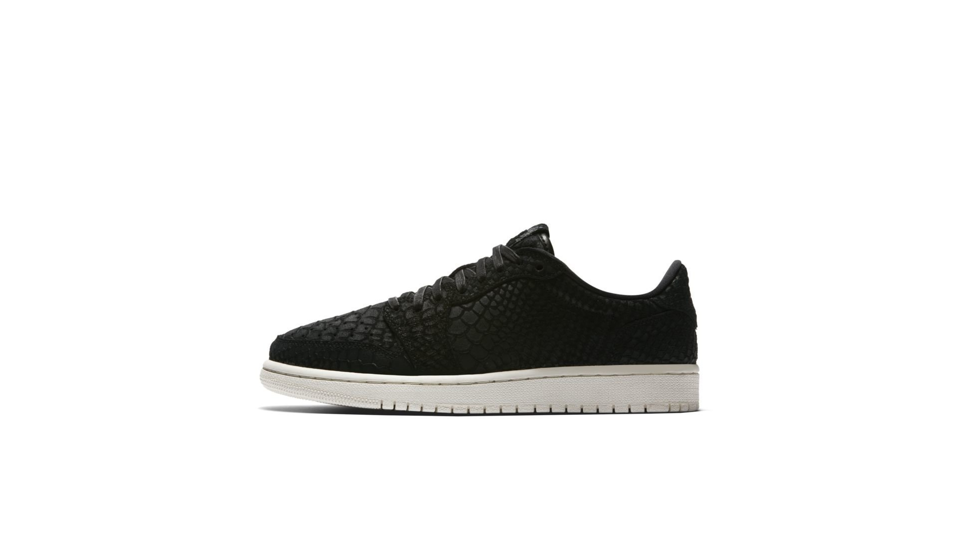 Jordan 1 Retro Low NS Black Python (W) (AJ6004-010)