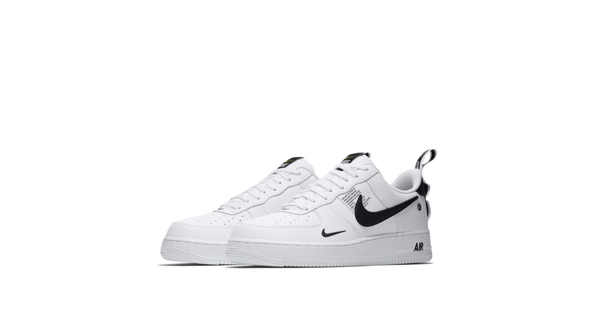 Nike Air Force 1 Low Utility White Black (AJ7747 100)