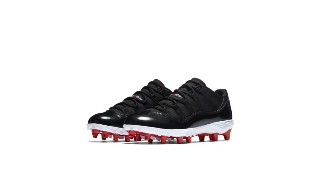 Jordan 11 Retro Low Cleat Bred