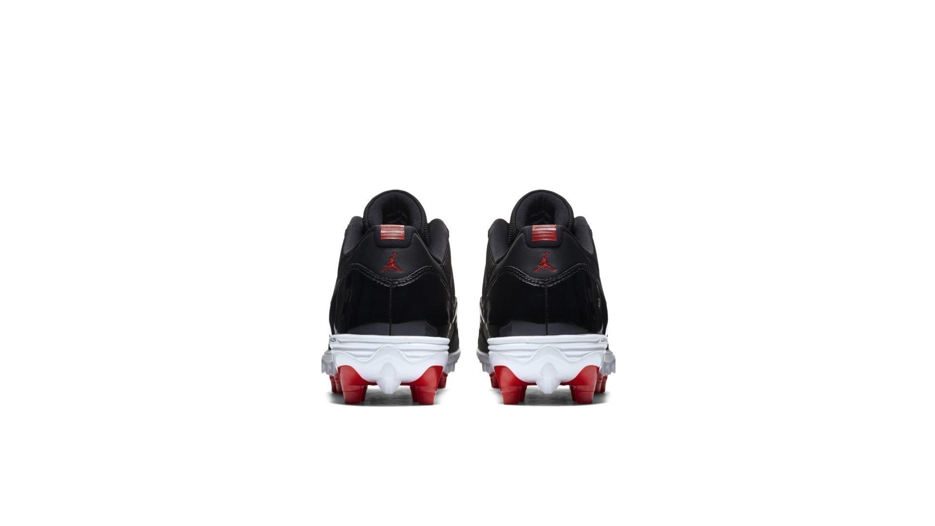Jordan 11 Retro Low Cleat Bred (AO1560-010)