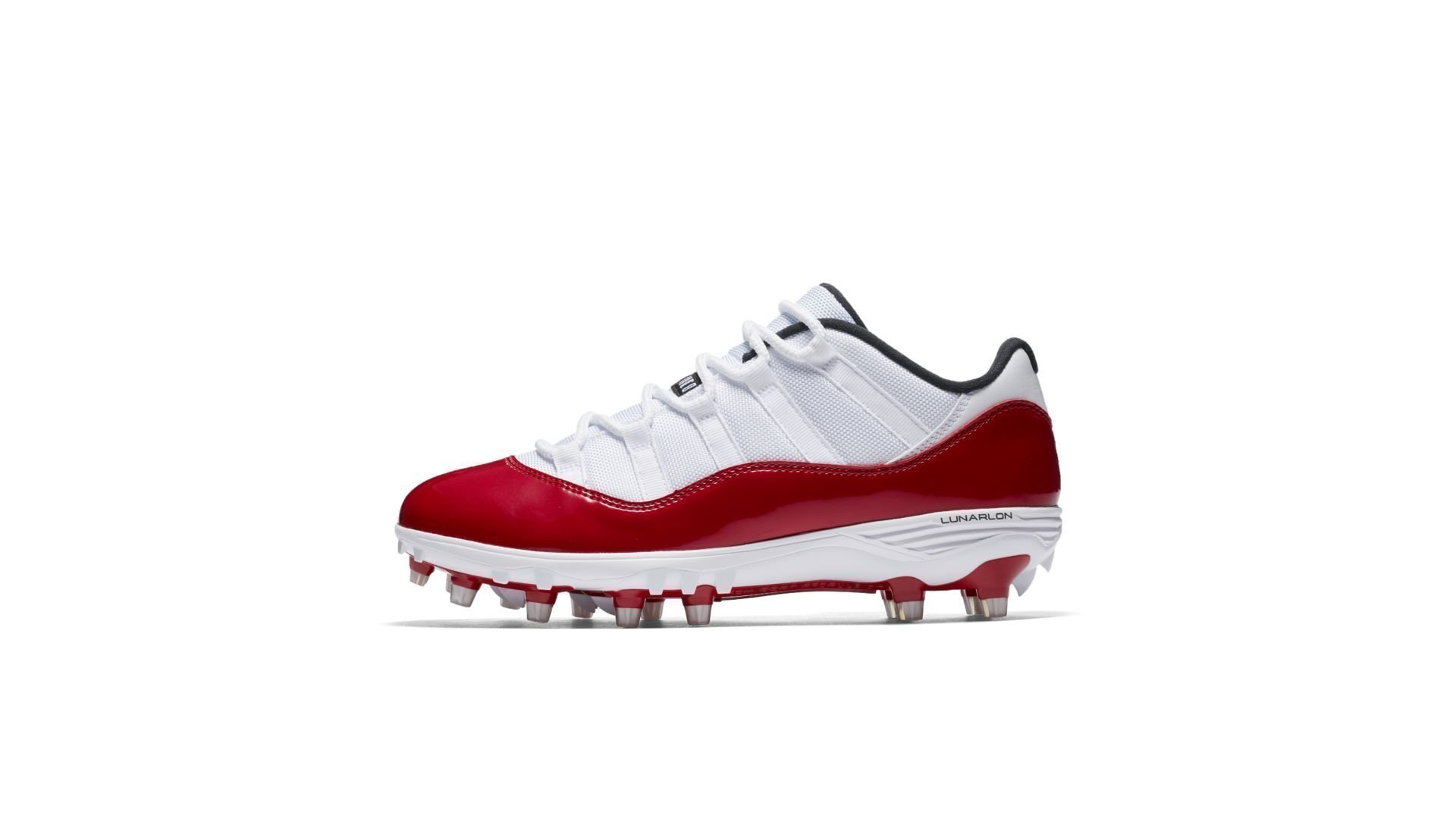 Jordan 11 Retro Low Cleat White Red (AO1560-101)