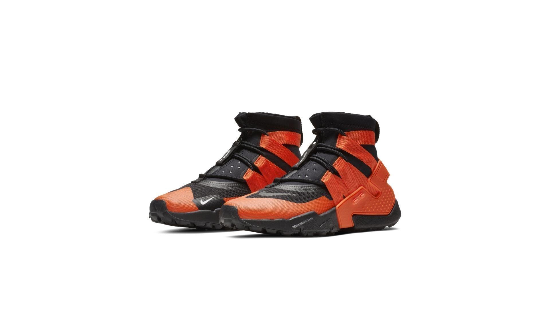 Nike Air Huarache Gripp Black Team Orange (AO1730-001)