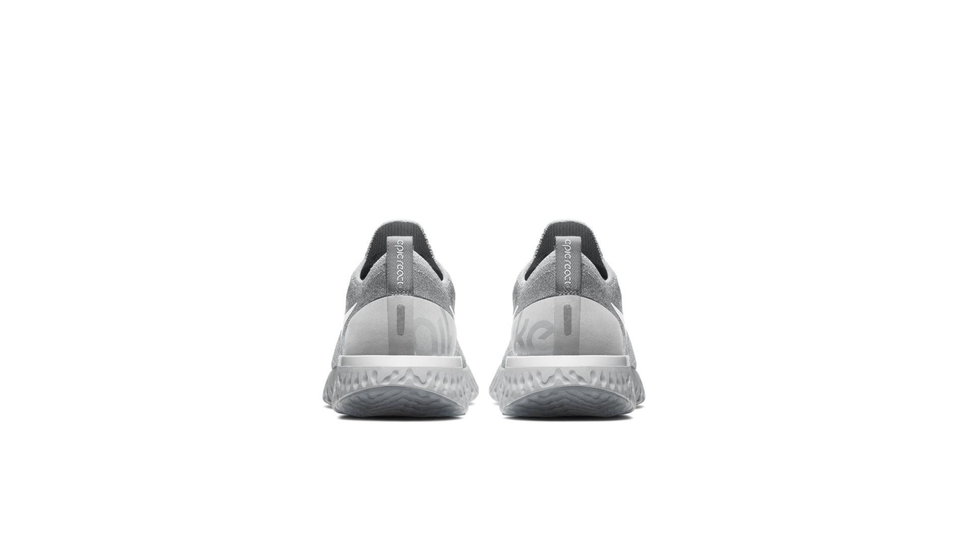 Nike Epic React Flyknit Wolf Grey (W) (AQ0070-002)
