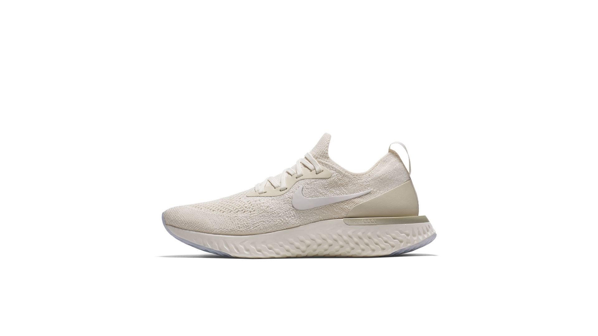 Nike Epic React Flyknit Light Cream (W) (AQ0070-201)