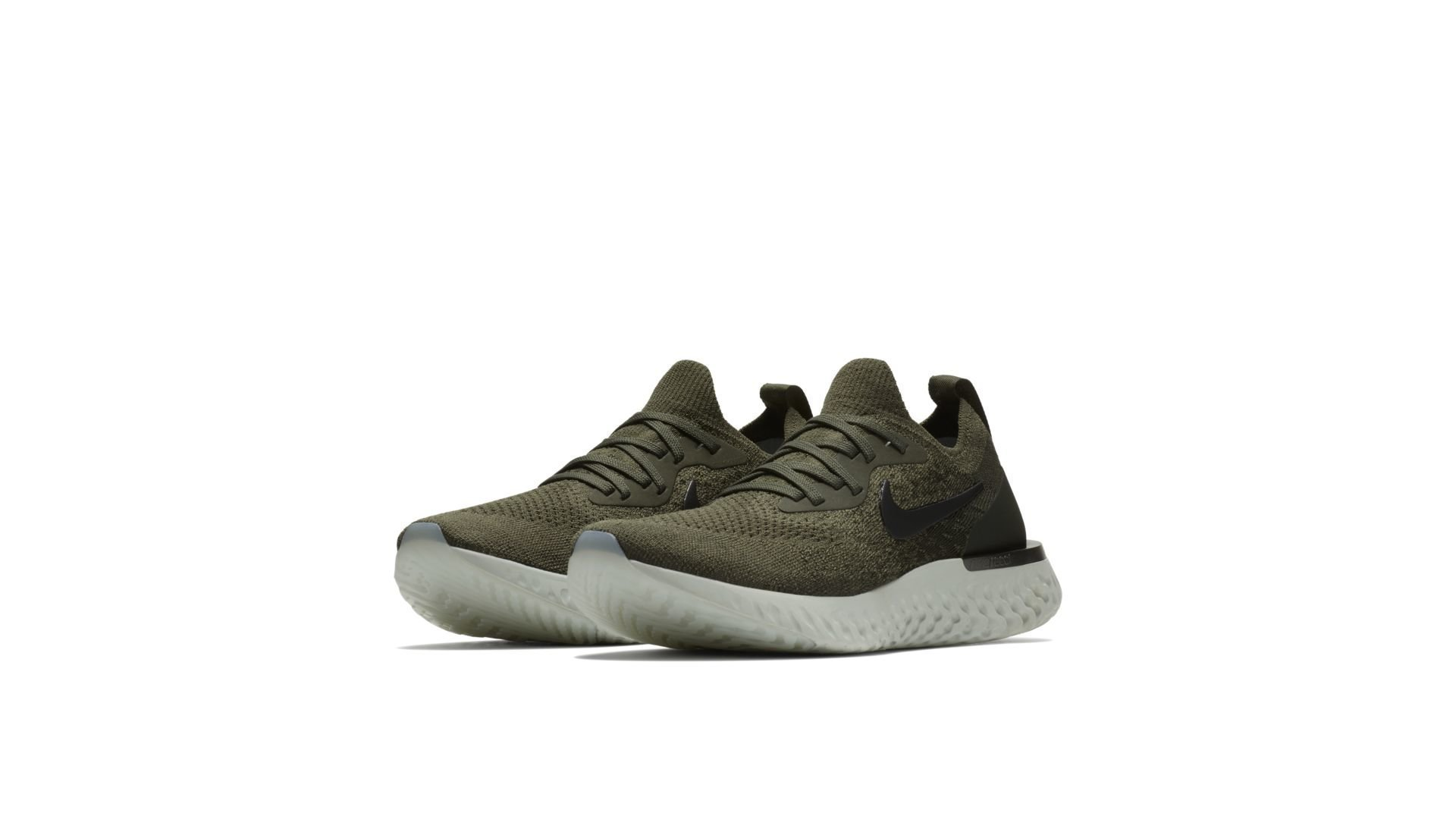 Nike Epic React Flyknit Olive (W) (AQ0070-300)