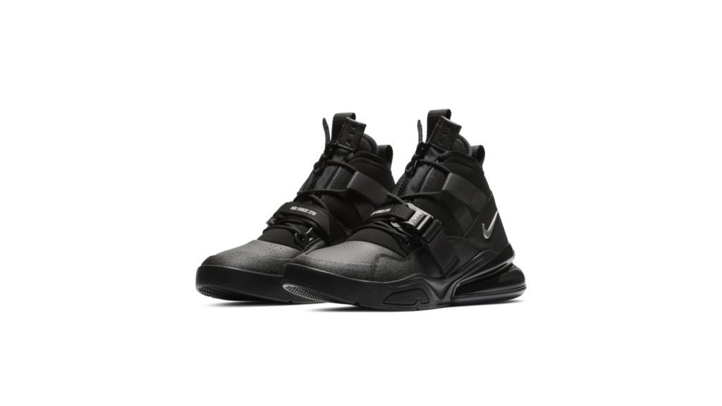 Air Force 270 Utility Black Metallic Silver