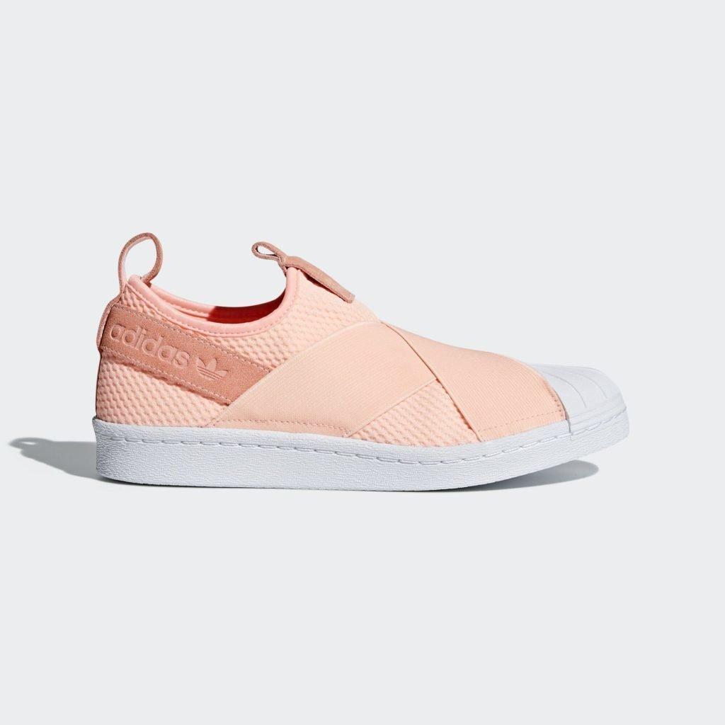adidas Superstar Slip-On Clear Orange (W)