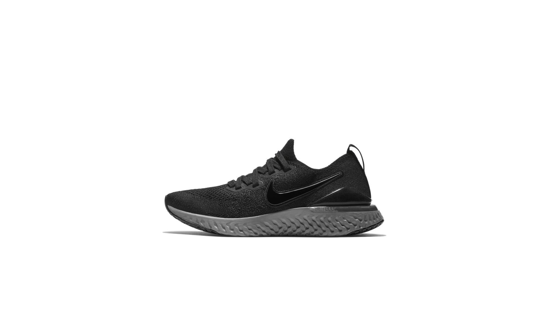 Nike Epic React Flyknit 2 Black Anthracite (GS) (AQ3243-002)
