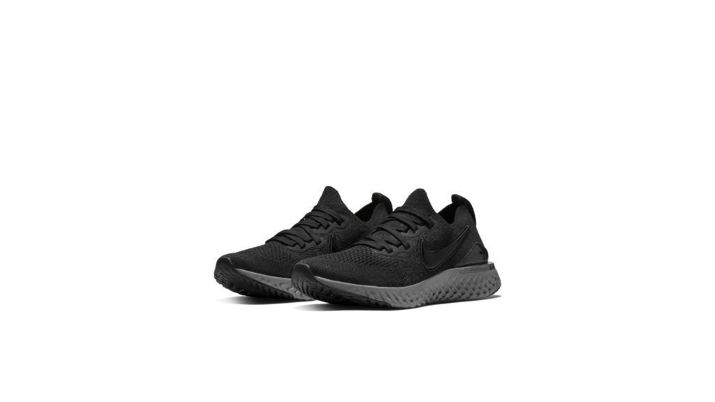 Nike Epic React Flyknit 2 Black Anthracite (GS)