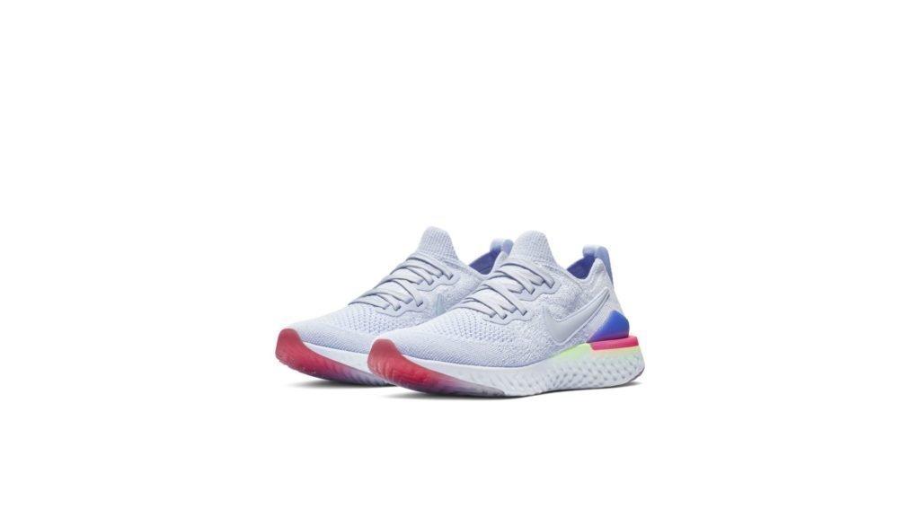 Nike Epic React Flyknit 2 Hydrogen Blue Sapphire Hyper Pink (GS)