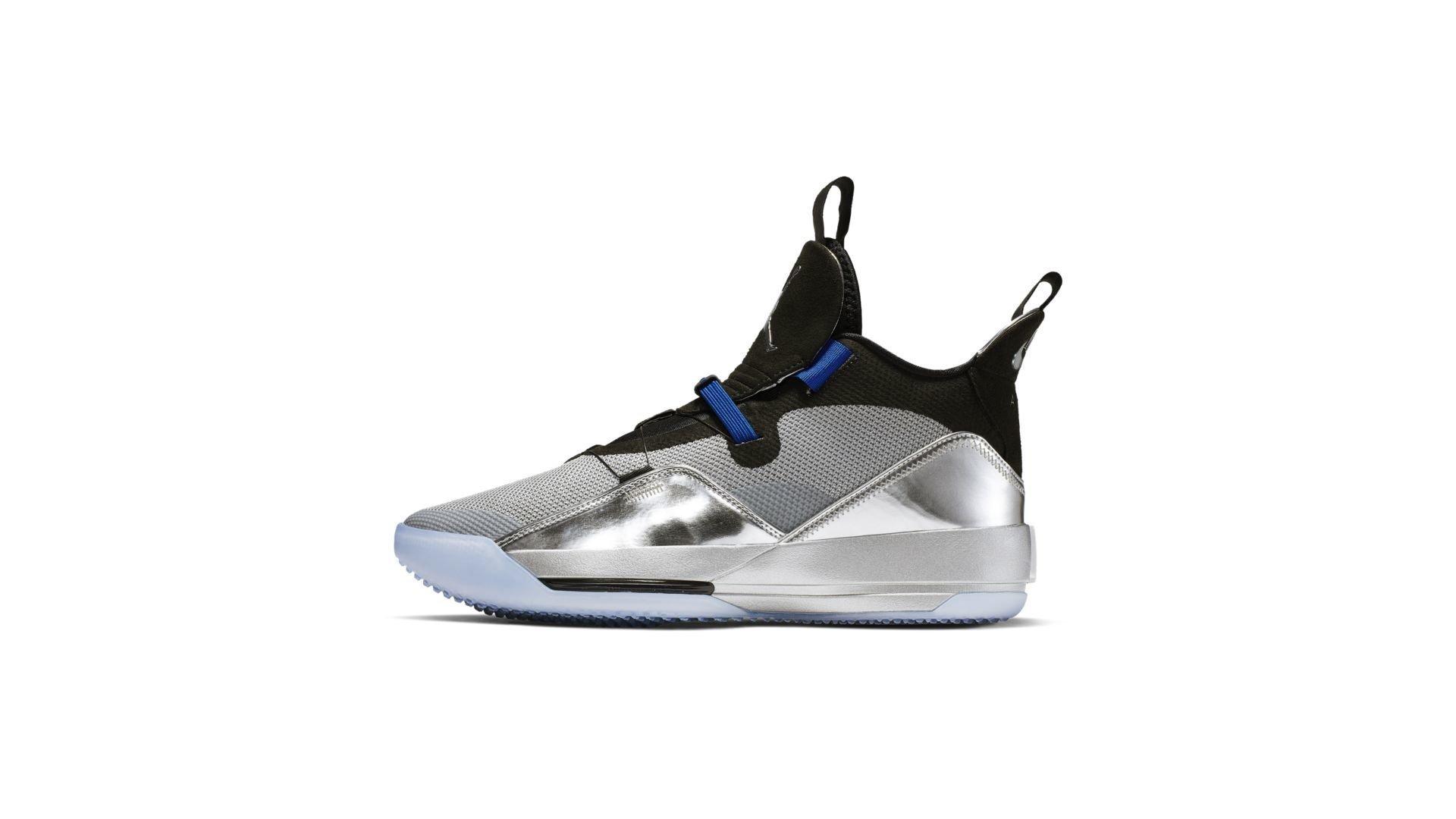 Jordan XXXIII Metallic Silver Black All Star (AQ8830-005)