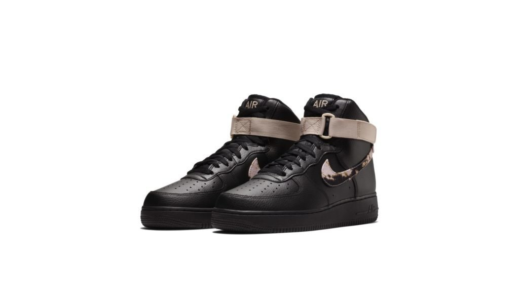 Air Force 1 High Acid Wash Pack Black