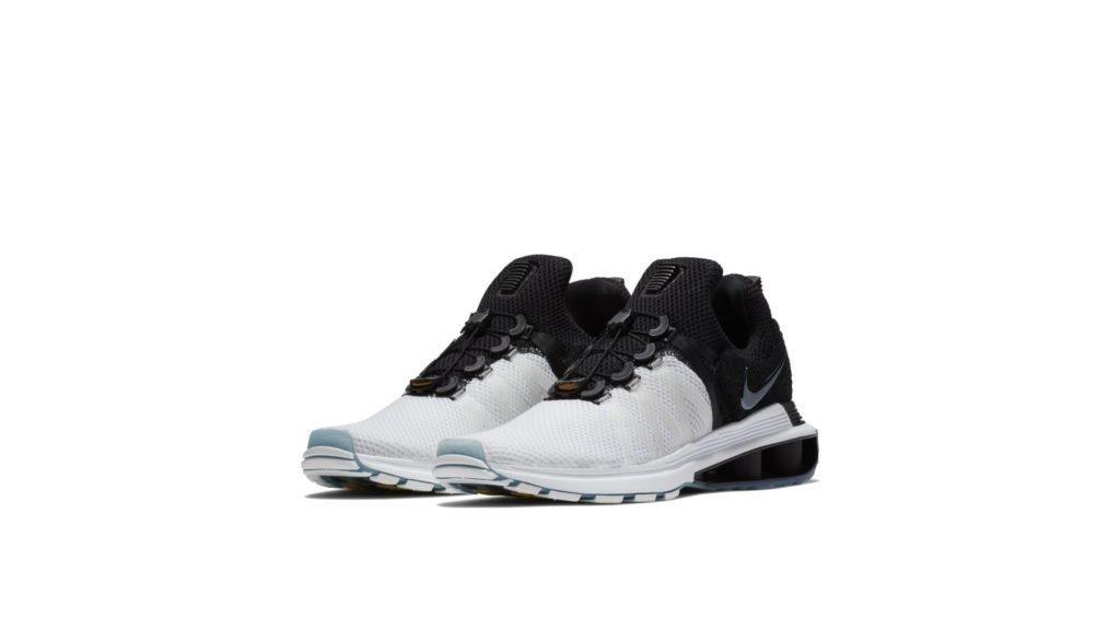 Nike Shox Gravity White Black