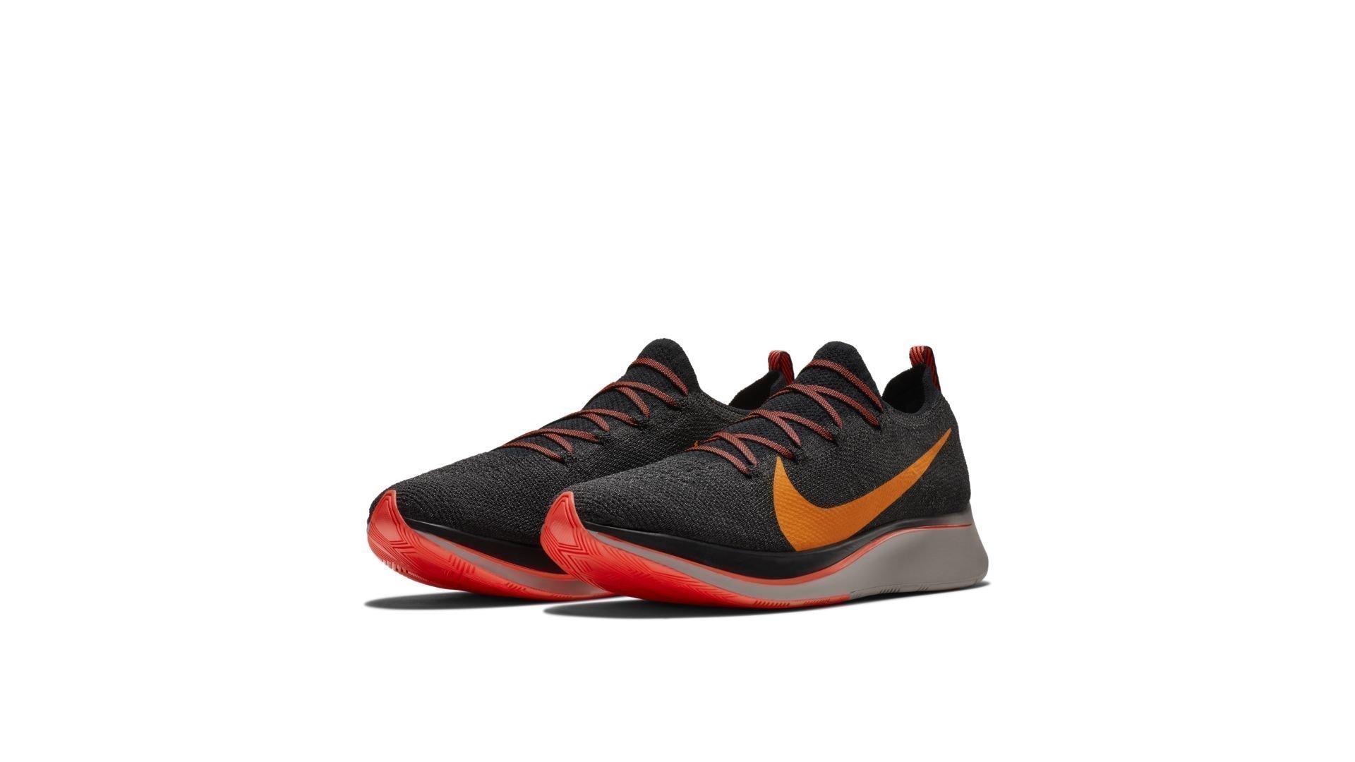 Nike Zoom Fly Flyknit Black Flash Crimson (AR4561-068)
