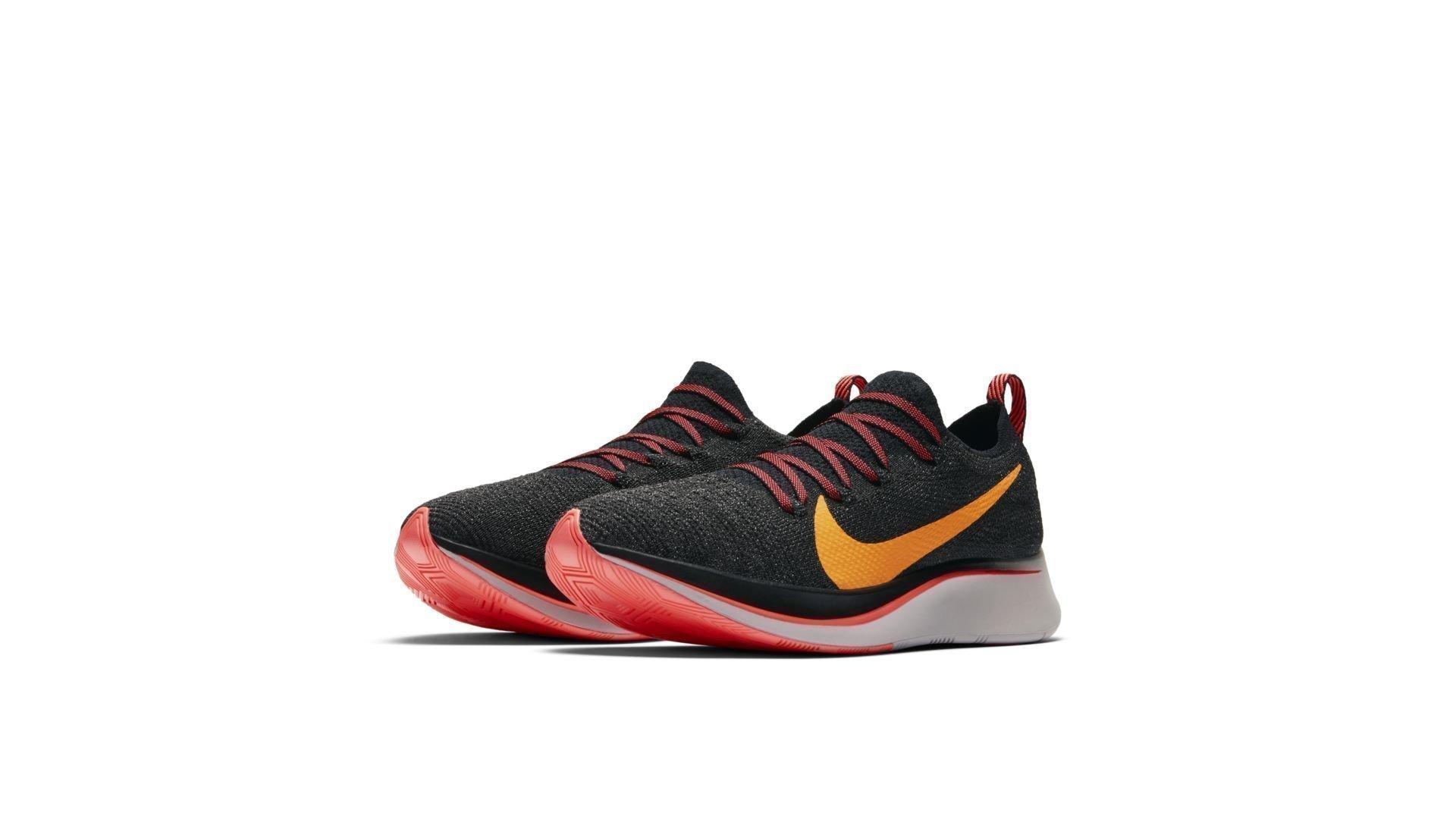 Nike Zoom Fly Flyknit Black Orange Peel (W) (AR4562-068)