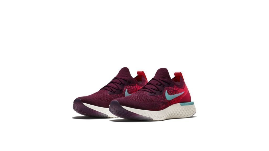 Nike Epic React Flyknit Bordeaux Hyper Jade (W)