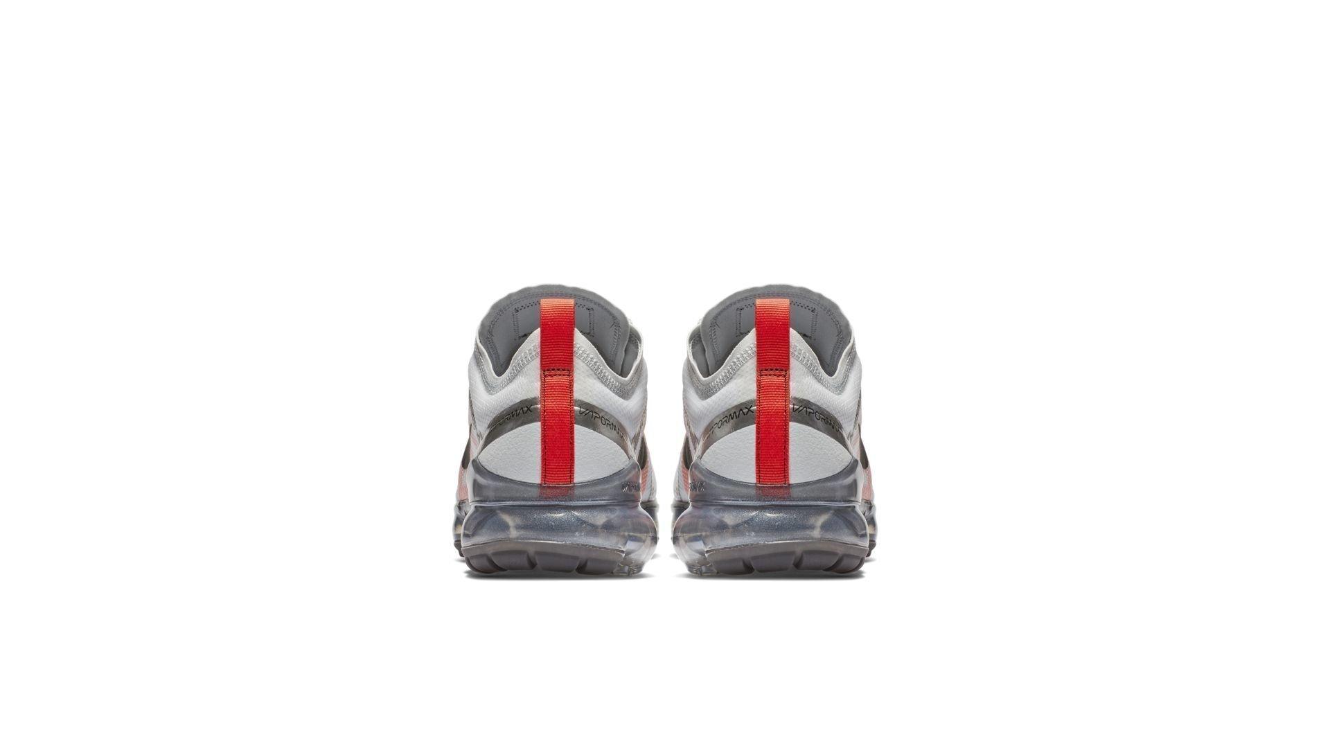 Nike Air VaporMax 2019 Pure Platinum Team Orange (AR6631-003)