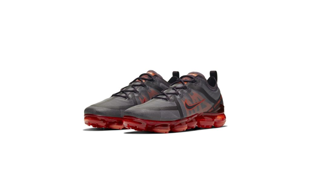 Air VaporMax 2019 Dark Team Red University Red