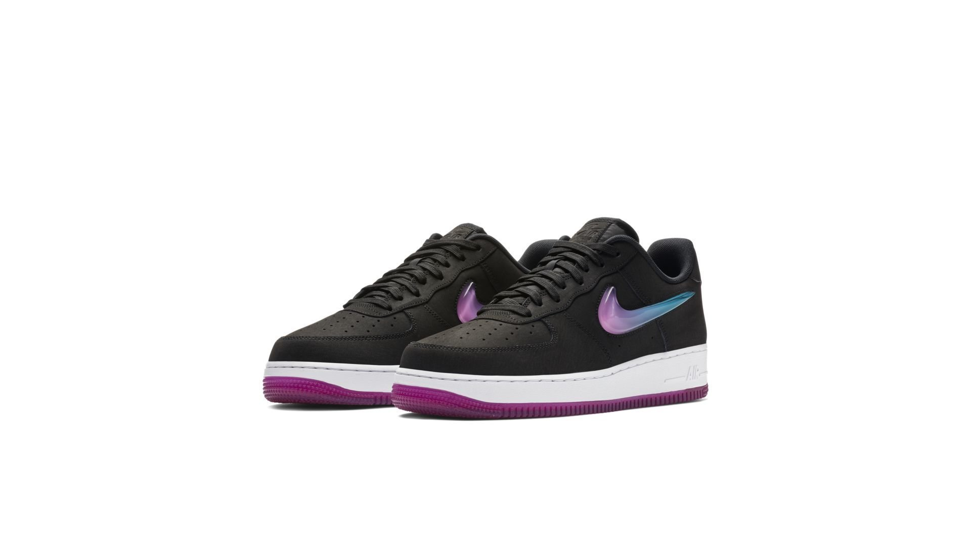 Nike Air Force 1 Low Jelly Jewel Black (AT4143 001)