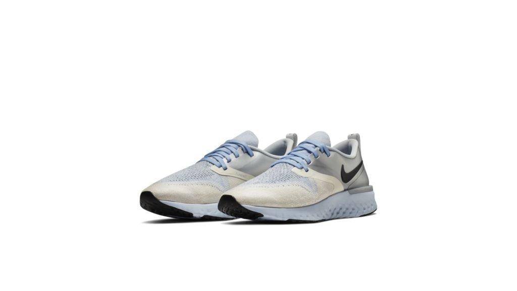 Nike Odyssey React 2 Flyknit Metallic Silver (W)