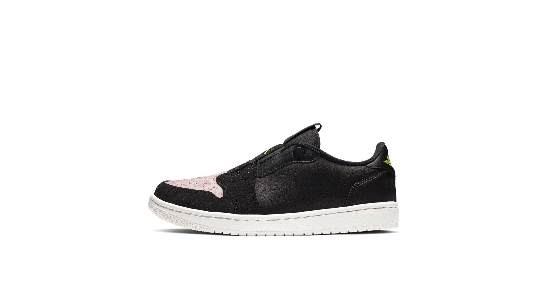 Jordan 1 Retro Low Slip Black Silt Red (W) (AV3918-002)