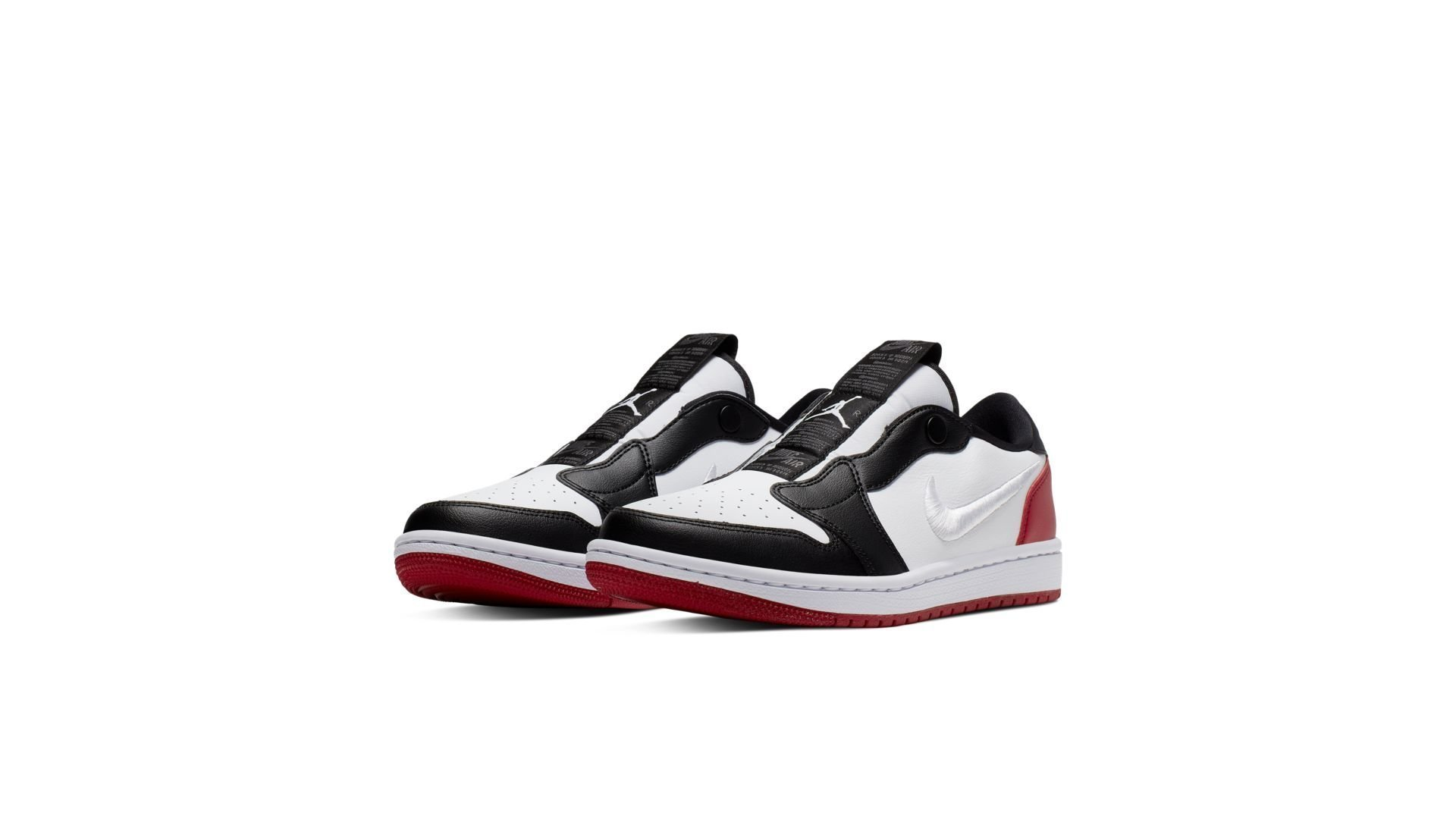 Jordan 1 Retro Low Slip Black Toe (W) (AV3918-102)