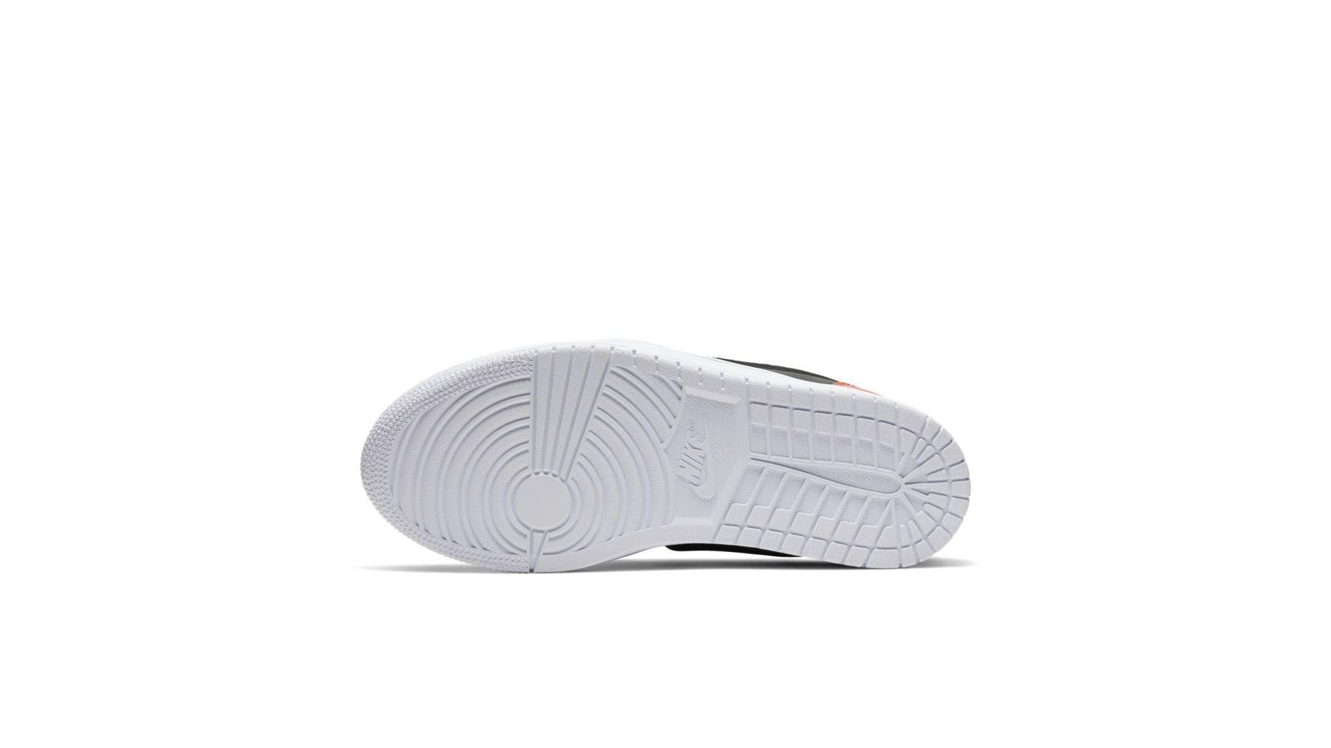 Jordan 1 Low Slip Black Hot Punch (W) (AV3918-600)