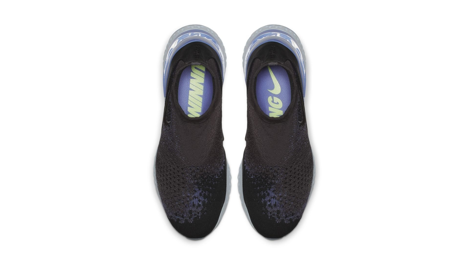 Nike Rise React Flyknit Thunder Grey Sapphire (AV5554-055)