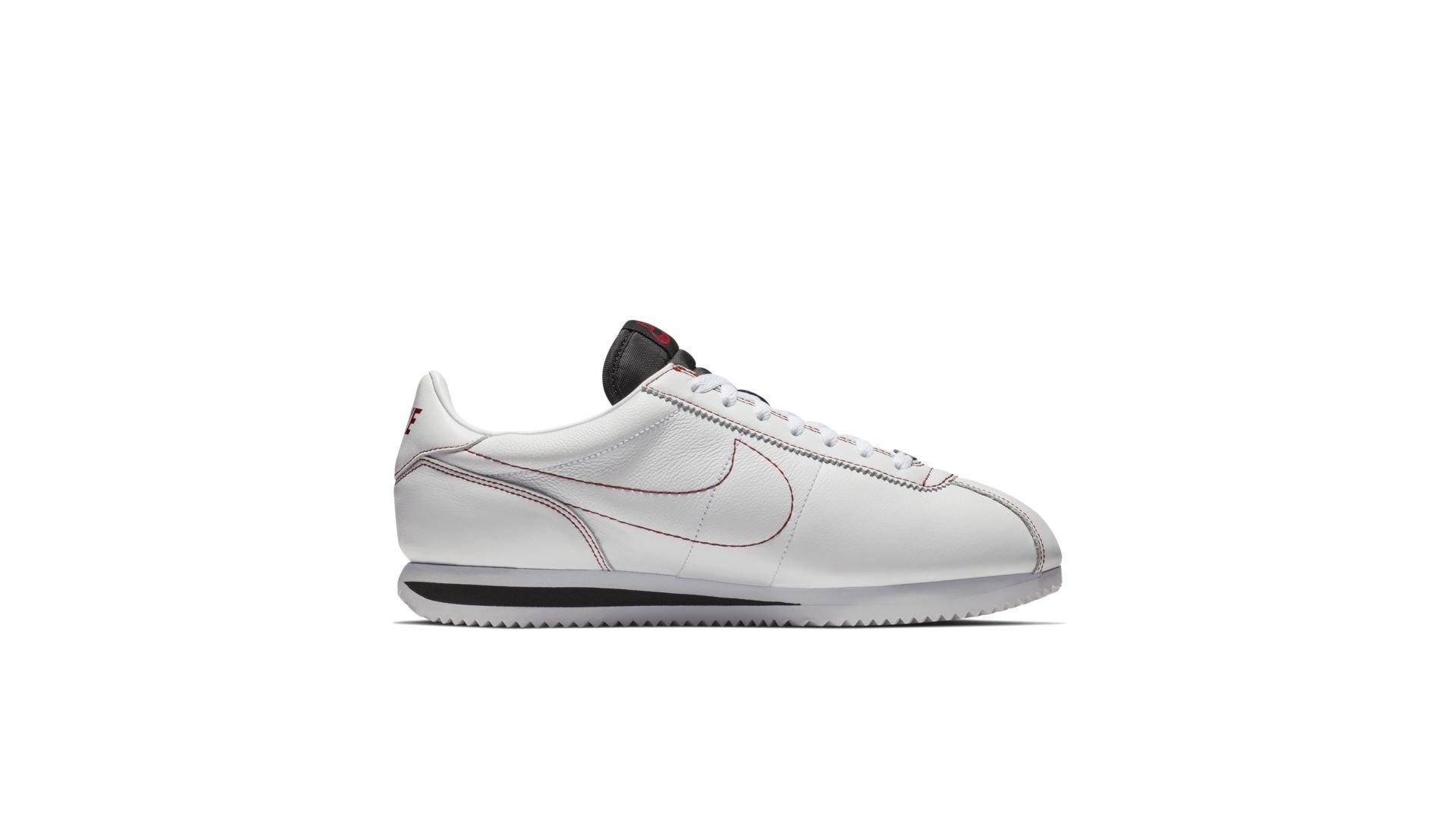 Nike Cortez Kenny 1 Kendrick Lamar Damn White Gym Red (AV8255-106)