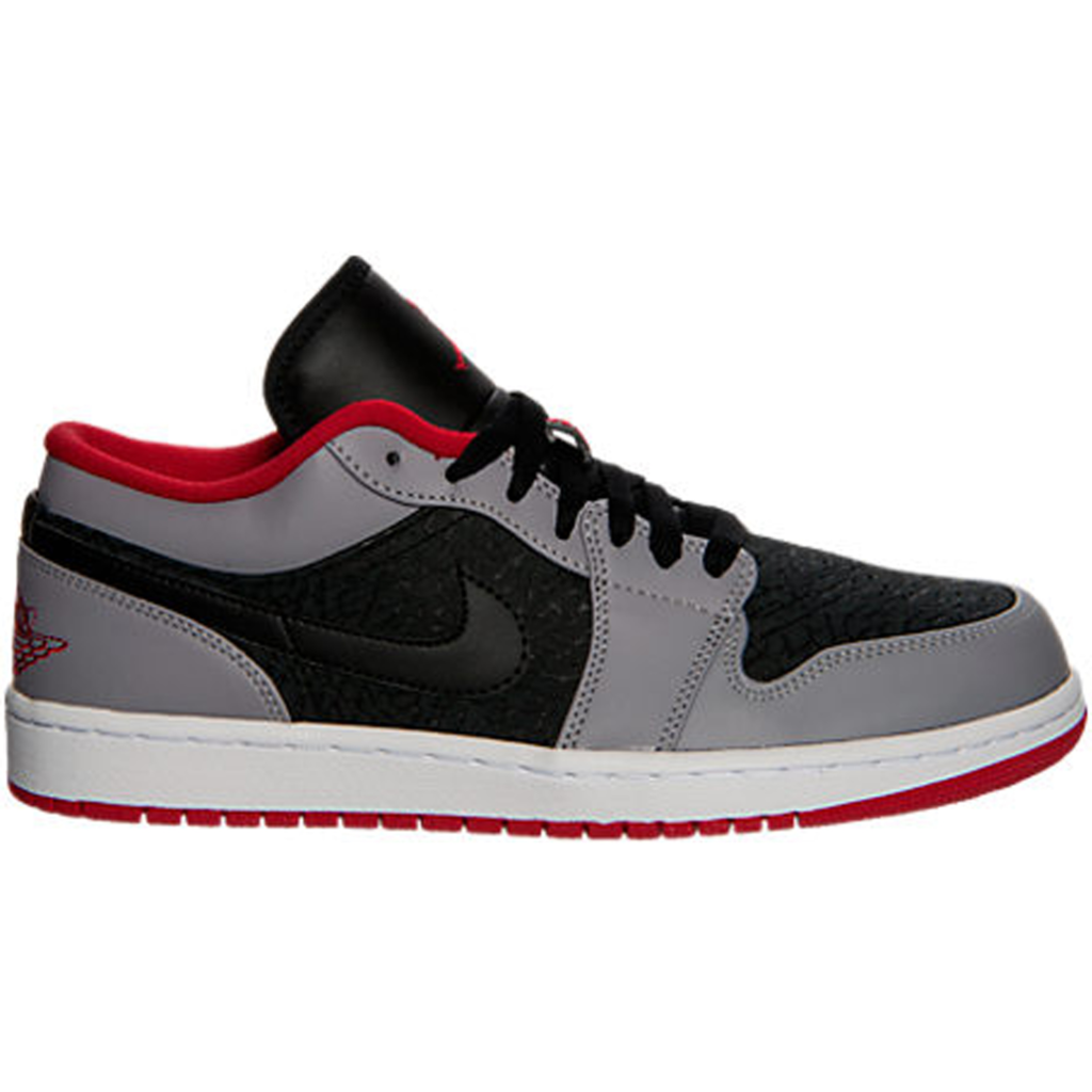 Jordan 1 Low Black Gym Red Cement