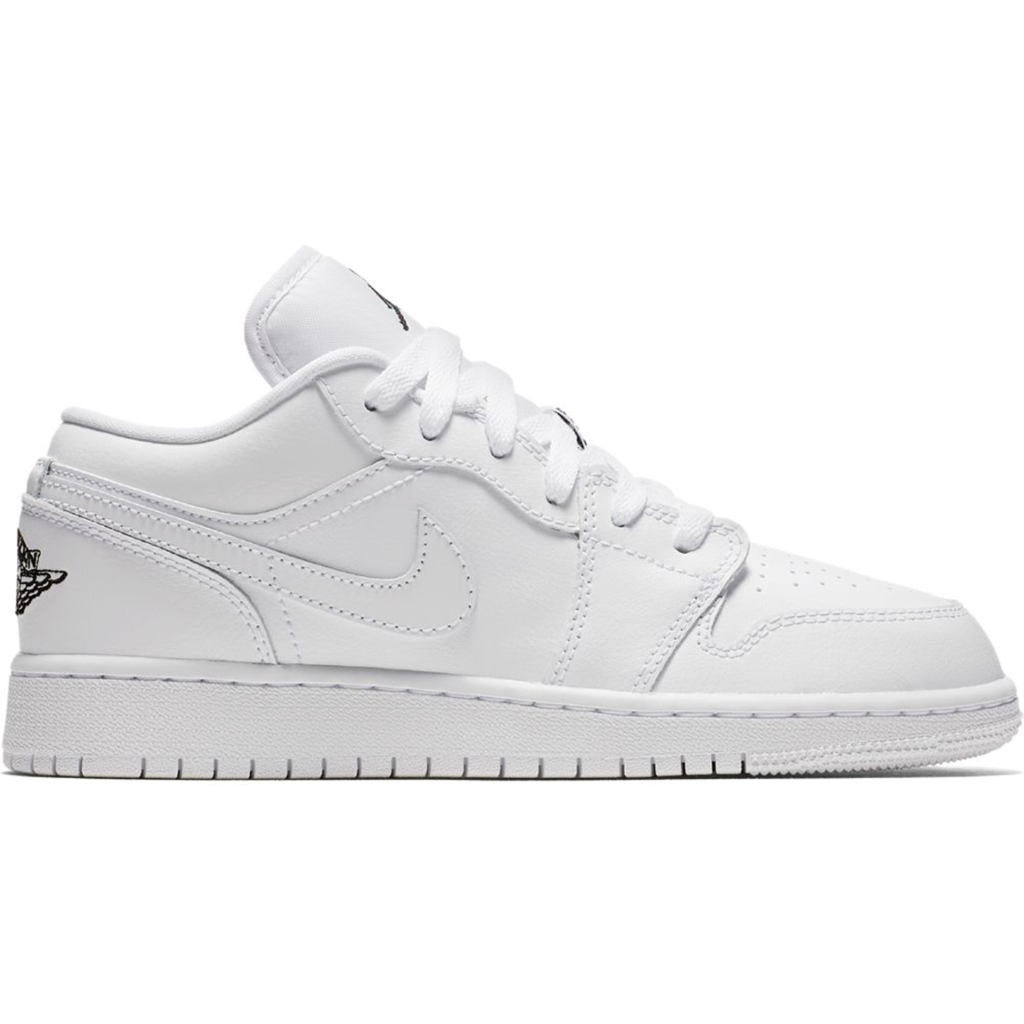 Jordan 1 Low Triple White (GS)